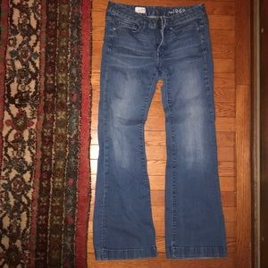 """Flare Jeans size 28/6 """"long and lean"""""""
